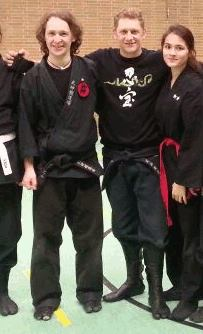 Joachim, Oliver und Kim